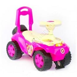 Scaun cu rotile Barbie roz