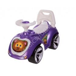 Scaun cu rotile picior violet