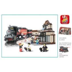 Constructor pentru copii Sluban Gara (0236)