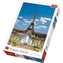 Puzzle Trefl Turnul Eiffel (27051) 2000 elemente