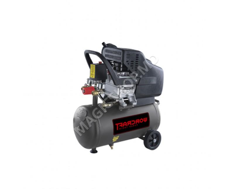 Compresor Worcraft AC02-24 negru
