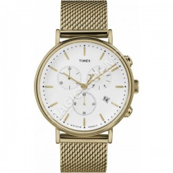 Ceas unisex Timex Fairfield Chronograph 41mm Mesh Band Watch