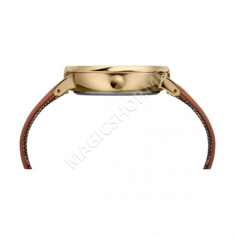Ceas unisex Timex Fairfield Sub-Second 41mm Leather Strap Watch