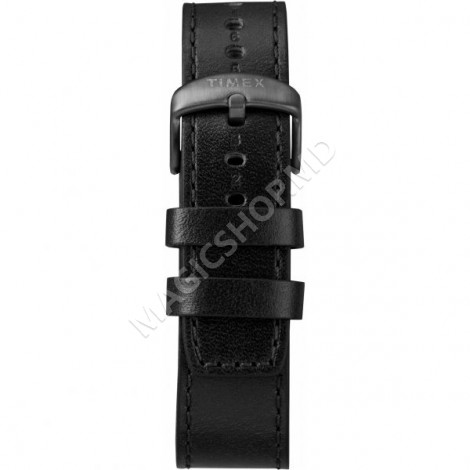 Ceas sportiv Timex Waterbury Linear Chronograph 45mm Leather Strap Watch