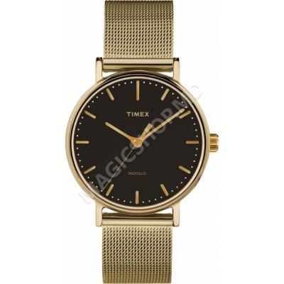 Ceas unisex Timex Fairfield 37mm Stainless Steel Mesh Band Watch