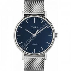 Ceas unisex Timex Fairfield 41mm Stainless Steel Mesh Band Watch