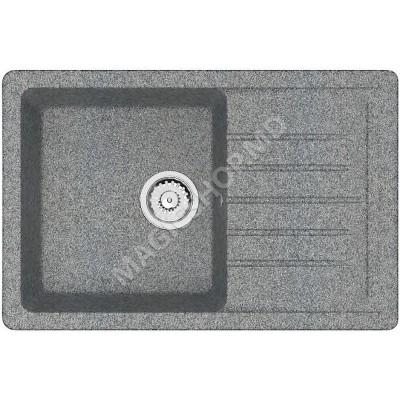 Chiuvetă Marrbaxx Endi 16 (gri inchis mat) 74x49 cm