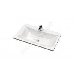 Lavoar pe mobilier Marrbaxx V022D1 (150x995x445mm) alb
