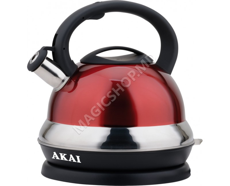 Fierbator de apa AKAI KW-1086R Rosu