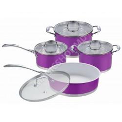 Seturi vase de gatit RAINSTAHL RS - 1084 PR Violet