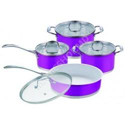 Seturi vase de gatit RAINSTAHL RS - 1086 WPR Violet