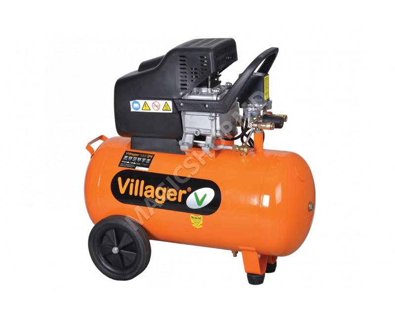 Compresor Villager VAT 24 L portocaliu
