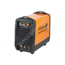 Aparat de sudat Villager TIG 160 R negru,portocaliu