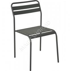 Scaun pentru gradina Cadiz (Black) (44x50x78cm)