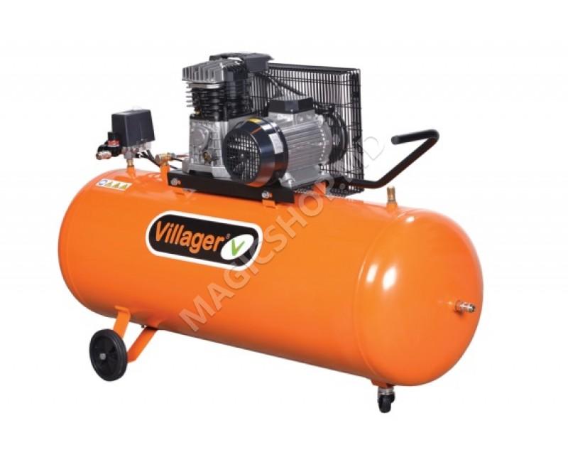 Compresor Villager AB 300/5,5 portocaliu
