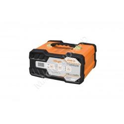 Incarcator pentru acumulator automobil Villager VCSB 12S negru,portocaliu
