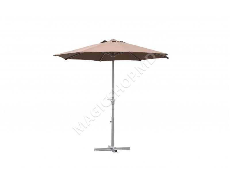 Umbrela de gradina Gardina Grup Barbados Brown (2700x2700mm)