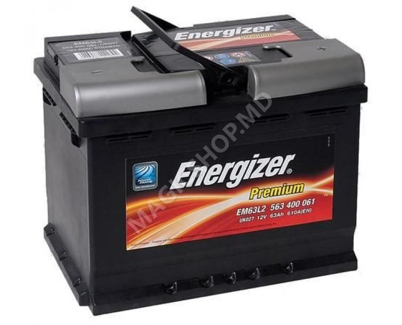 Acumulator Energizer Premium 63 Ah 610 A (EN)