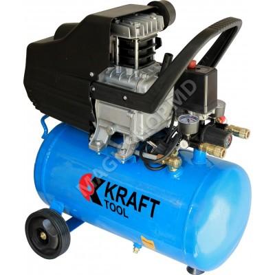 Compresor KraftTool KT24L albastru, negru