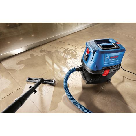Aspirator Bosch GAS 15 PS (B06019E5100) albastru