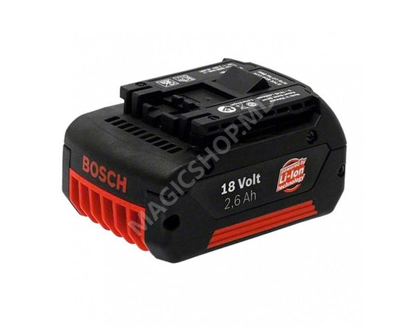 Acumulator Bosch 18V Li-Ion 2.6Ah (B2607336092)