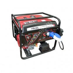Generator HAGEL DTF6500A 220 V 5 kW benzină+ATS