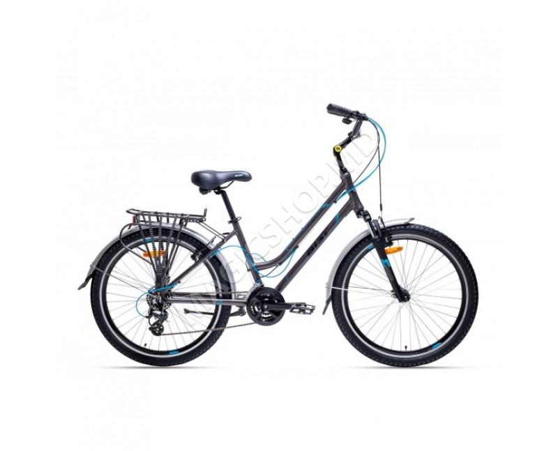 Bicicleta Aist Cruiser 2.0. W negru