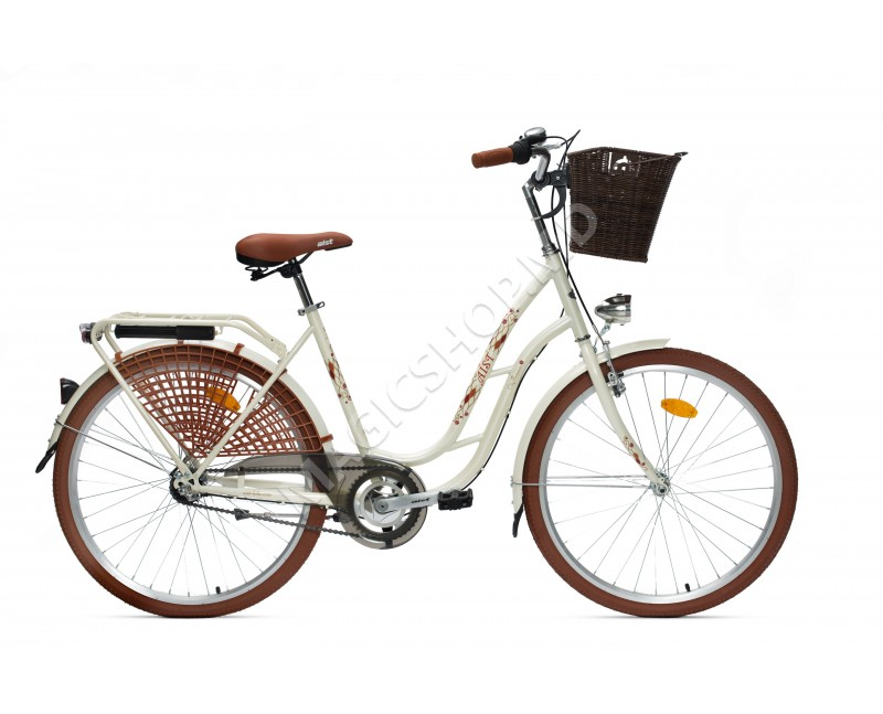 """Bicicleta Aist Tango 26"""" 2.0 bej"""