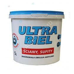 Vopsea SNIEZKA Ultra Biel 5L