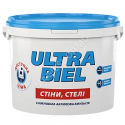 Vopsea SNIEZKA Ultra Biel 15L