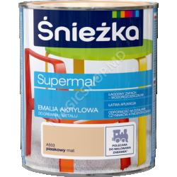 Email Acrilica, Sniezka Supermai A503 nisipiu-Mata 0,8 L