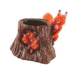 Ghiveci Cera Trunchi cu veveriţe
