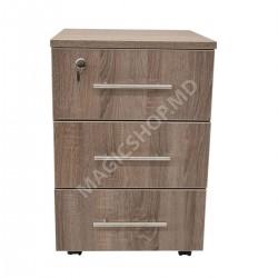Tumba pentru birou DP RollBox Trufle (400x450x750mm) maro