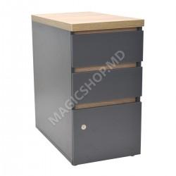 Tumba pentru birou DP Box Urban (400x640x750mm) gri