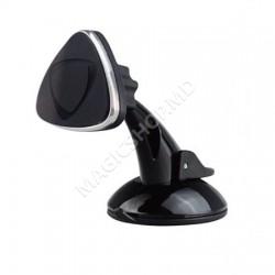 Suport magnetic de telefon Tellur pentru geam/bord negru