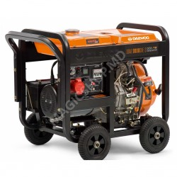 Generator motorina Daewoo DDAE 9000DХE-3 380 V 7 kW (pornire electrica)