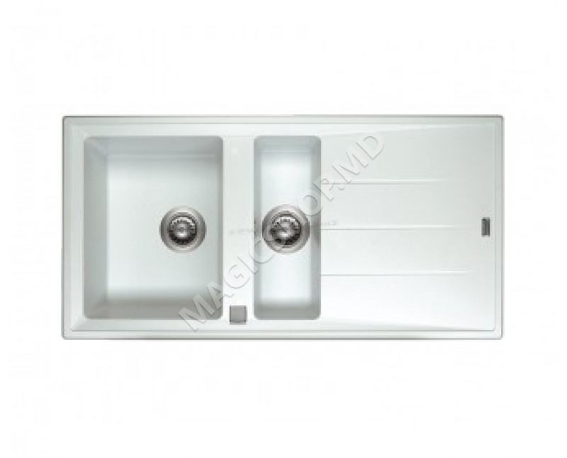 Chiuvetă Ariston SK100C2A.1 WH alb 1000x600 cm