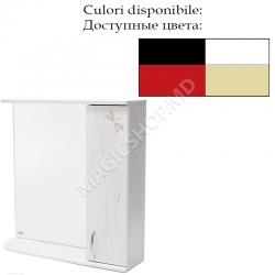 Oglinda Mash STUF 80 cm alb, albastru, bej, negru, rosu, verde