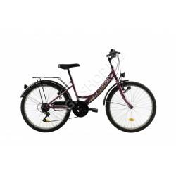 Bicicletă Kreativ 2414 violet
