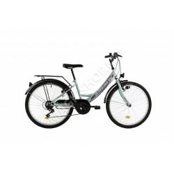 Bicicletă Kreativ 2414 verde