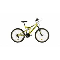 Bicicletă Kreativ 2441 galben