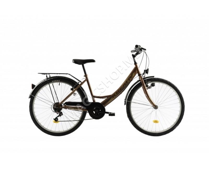 Bicicletă Kreativ 2614 maro