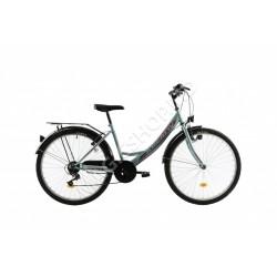 Bicicletă Kreativ 2614 verde