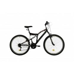 Bicicletă Kreativ 2641 negru