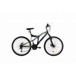 Bicicletă Kreativ 2643 negru