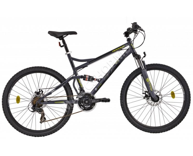 Bicicletă DHS 2645 gri, negru, verde