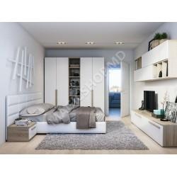 Set dormitor Indart TEXAS 1.6 x 2m