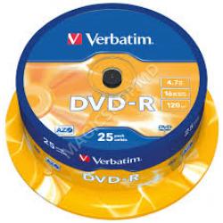 Disk-uri Verbatim 25 * 4.7 GB