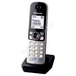 Telefon fără fir Panasonic KX-TGA681RUB Negru