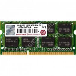 Memorie operativă Transcend PC12800 4GB DDR3